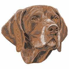 gsp002 German Shorthaired Pointer (small or large design)
