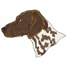 gsp003 German Shorthaired Pointer (small or large design)