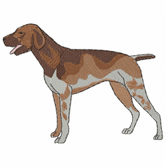gsp005 German Shorthaired Pointer (small or large design)
