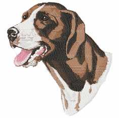 gsp008 German Shorthaired Pointer (small or large design)