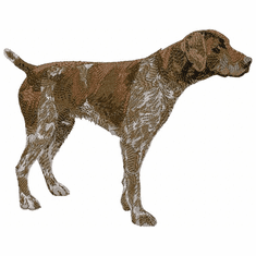 gsp011 German Shorthaired Pointer (small or large design)