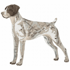 gsp013 German Shorthaired Pointer (small or large design)