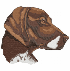 gsp017 German Shorthaired Pointer (small or large design)