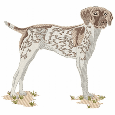 gsp022 German Shorthaired Pointer (small or large design)
