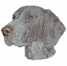 gsp024 German Shorthaired Pointer (small or large design)