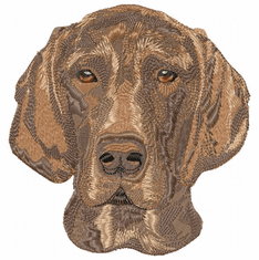 gsp025 German Shorthaired Pointer (small or large design)