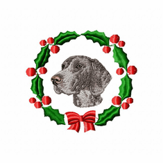 gsp1wreath German Shorthaired Pointer (small or large design)
