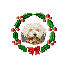 havanese1wreath Havanese (small or large design)