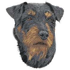 jagdterrier001 German Hunting Terrier (Jagdterrier) (small or large design)