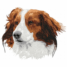 kork001 Kooikerhondje (small or large design)
