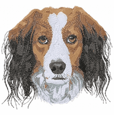 kork002 Kooikerhondje (small or large design)