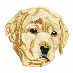 lab006 Labrador Retriever (small or large design)