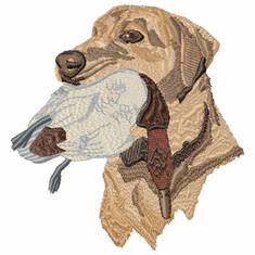 lab045 Labrador Retriever (small or large design)