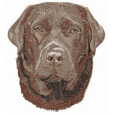 lab073 Labrador Retriever (small or large design)