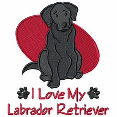 lab100 Labrador Retriever (small or large design)