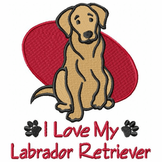 lab101 Labrador Retriever (small or large design)