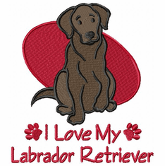 lab102 Labrador Retriever (small or large design)