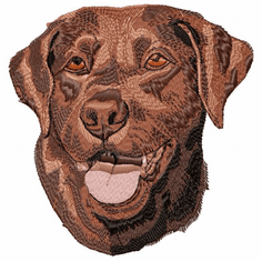 lab104 Labrador Retriever (small or large design)