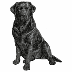 lab105 Labrador Retriever (small or large design)