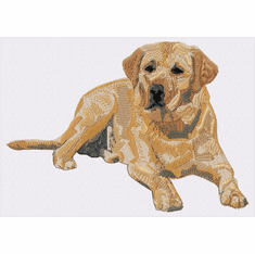 lab108 Labrador Retriever (small or large design)