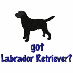 lab113 Labrador Retriever (small or large design)