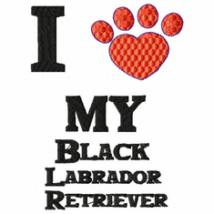 lab114 Labrador Retriever (small or large design)