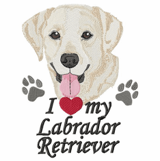 lab126 Labrador Retriever (small or large design)