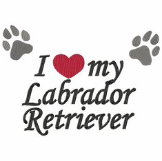 lab133 Labrador Retriever (small or large design)