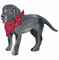 lab137 Labrador Retriever (small or large design)
