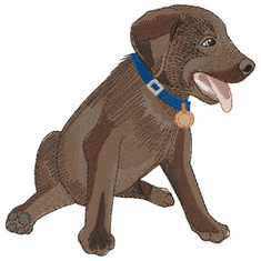 lab141 Labrador Retriever (small or large design)