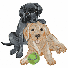 lab143 Labrador Retriever (small or large design)