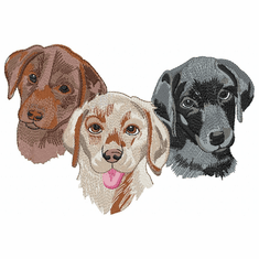 lab145 Labrador Retriever (small or large design)