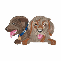 lab149 Labrador Retriever (small or large design)