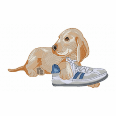 lab151 Labrador Retriever (small or large design)