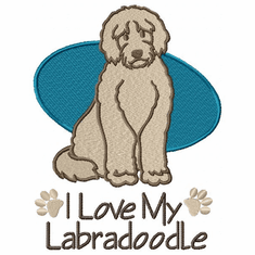 labra002 Labradoodle (small or large design)