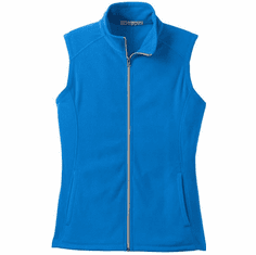 Ladies Microfleece Vest <br>with Small or Large Design