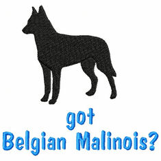 malinois003 Belgian Malinois (small or large design)