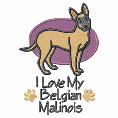 malinois015 Belgian Malinois (small or large design)
