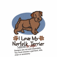 norfolk005s Norfolk Terrier (small or large design)