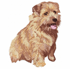 norfolk007 Norfolk Terrier (small or large design)