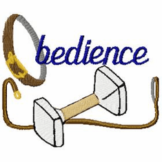 obed001 Obedience (small or large design)