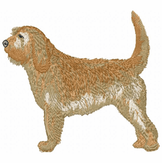 oh001 Otterhound (small or large design)