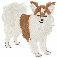 pap004 Papillon (small or large design)