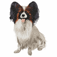 pap007 Papillon (small or large design)