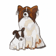 pap012 Papillon (small or large design)