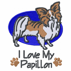 pap017 Papillon (small or large design)