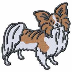 pap018 Papillon (small or large design)