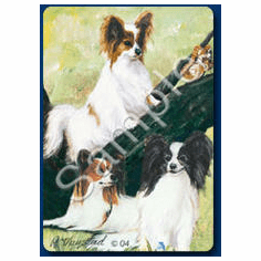 Papillon Playing Cards