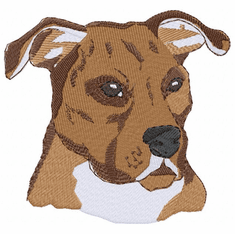 pbt001 Pit Bull Terrier (small or large design)