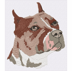 pbt010 Pit Bull Terrier (small or large design)
